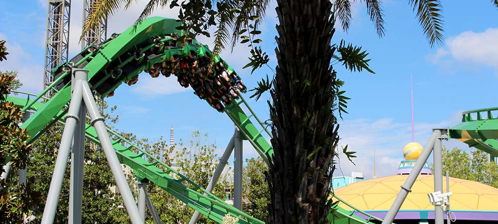 Orlando Area Attractions Roller Coasters Close to Solterra Resort