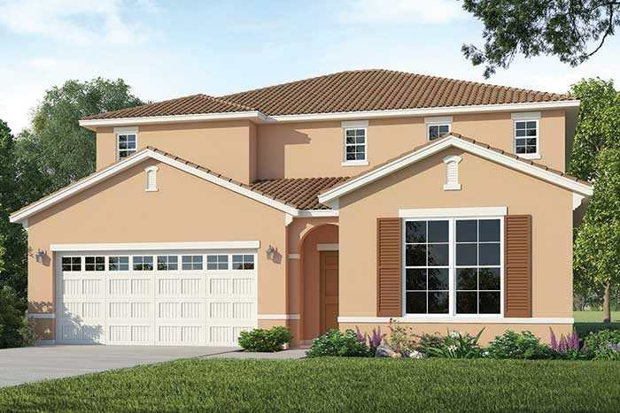 Belize Rendering of D.R. Horton Home at Solterra Resort