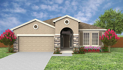 Castillo 2104-C Rendering of D.R. Horton Home at Solterra Resort