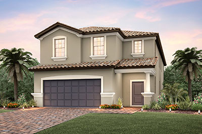 Hideaway Single Family Rendering Pulte Homes at Solterra Resort