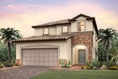 Lakeshore Single Family Rendering Pulte Homes At Solterra