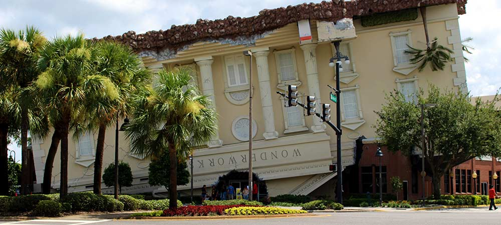 Wonderworks Orlando I-Drive Area Attractions Close to Solterra Resort